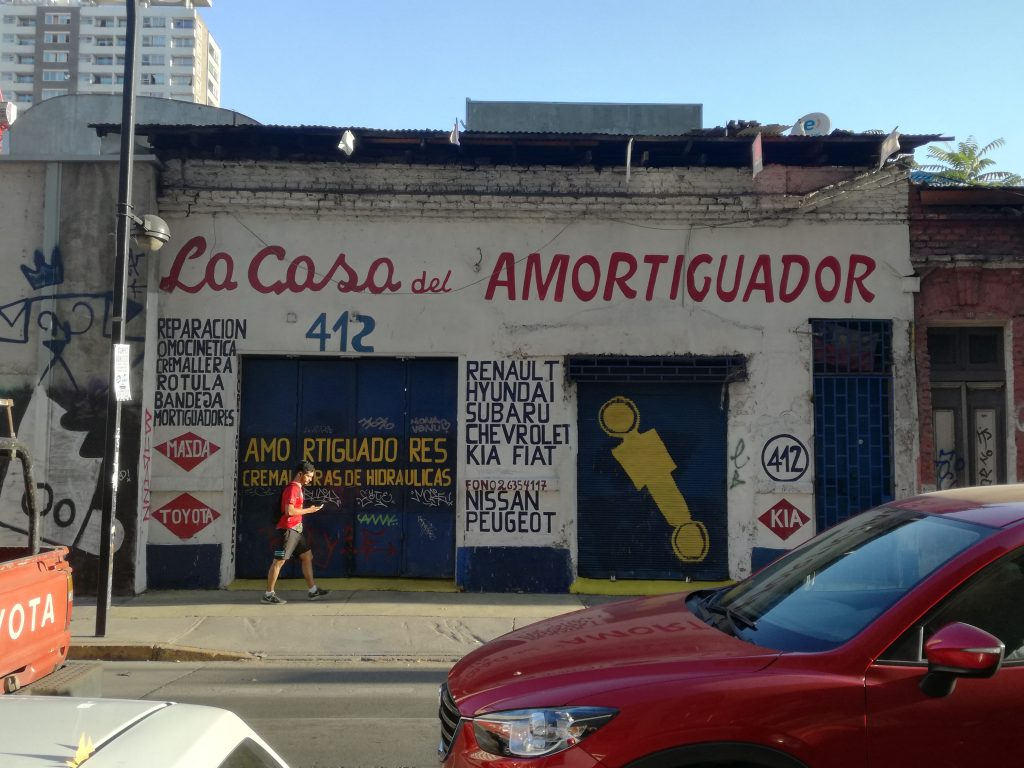 La casa del amortiguador. Puro marketing